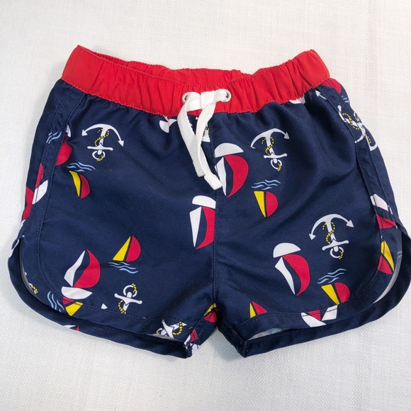 6cd092998aa63 Hanna Andersson Other - Hanna Anderson 6-12 month swim trunks boat anchor